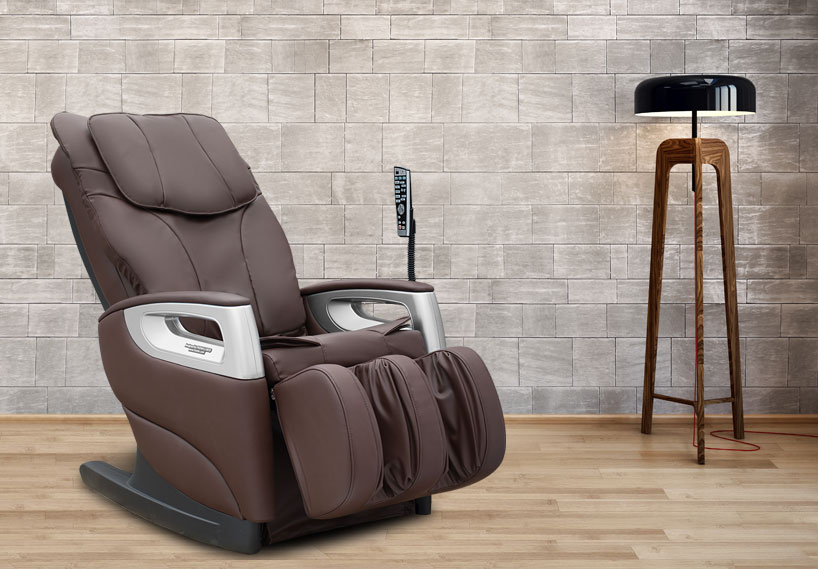 Pro-Wellness PW370 massage chair brown