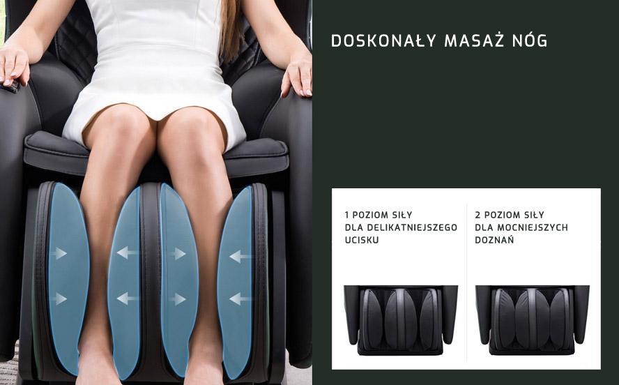 Masażer uciskowy nóg fotela PW430