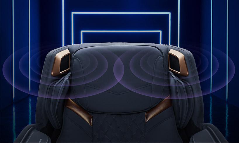 Fotel z masażem PW530 - Muzyka